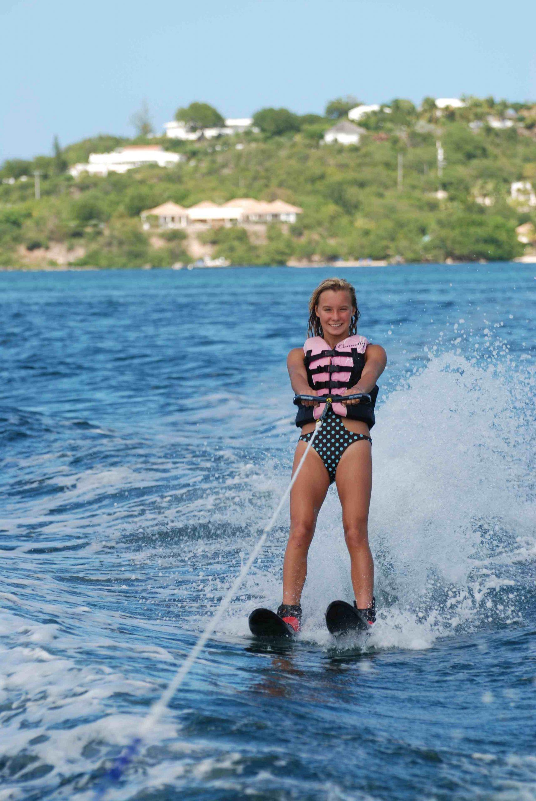 Leçon découverte ski nautique